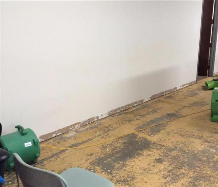 Concord Accounting Office Assesses Water Damage After