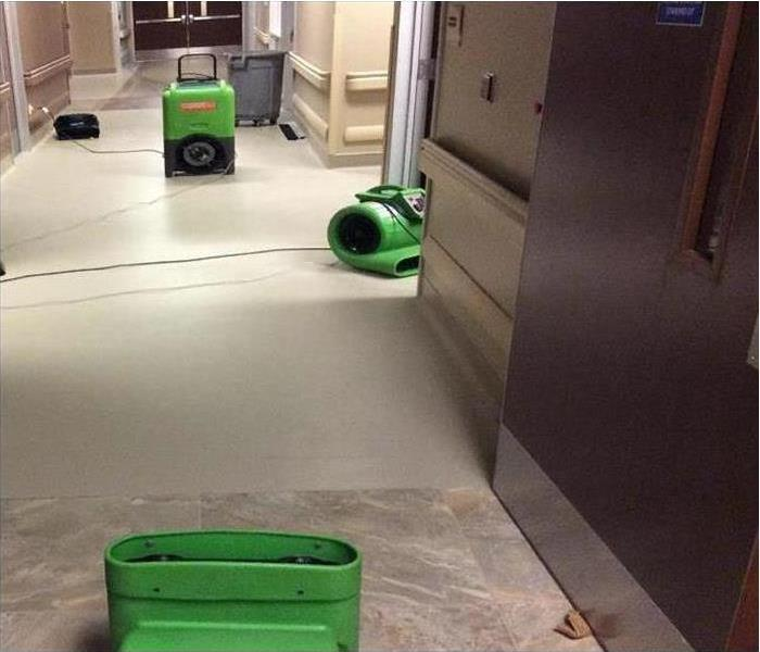 Commercial Water Damage – Concord Medical Facility