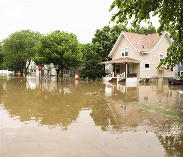 Storm Damage Emergency Flood Damage Restoration Services in Concord